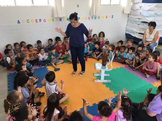 """Atividades e muita diversão em comemoração ao Dia das Crianças na EMEB """"Profª Walda Maria Stocco Prandini"""""""